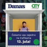 Novi broj City Magazine u Danasu u utorak 13. jula 1