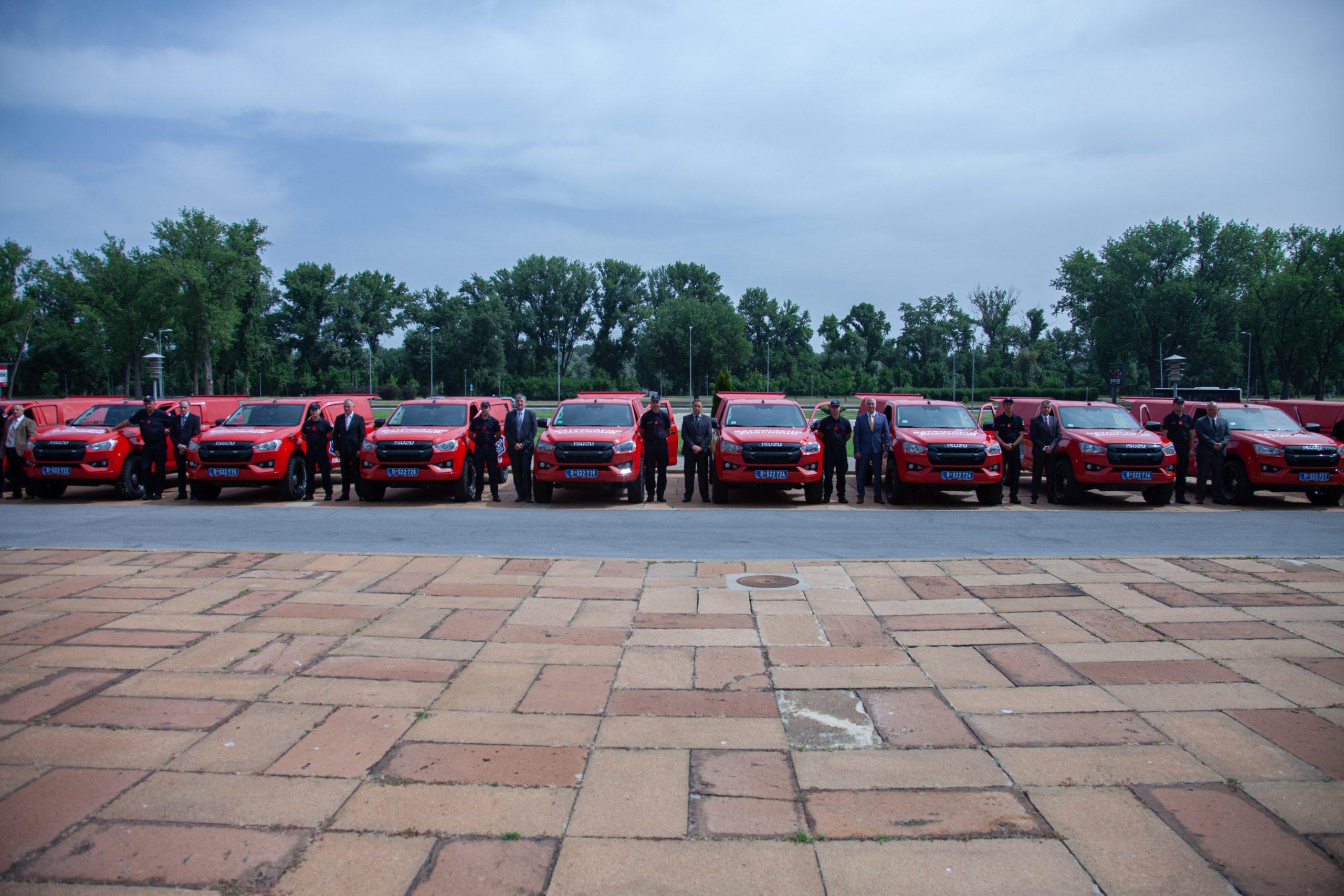 EU obezbedila 27 vozila za gašenje šumskih požara 2