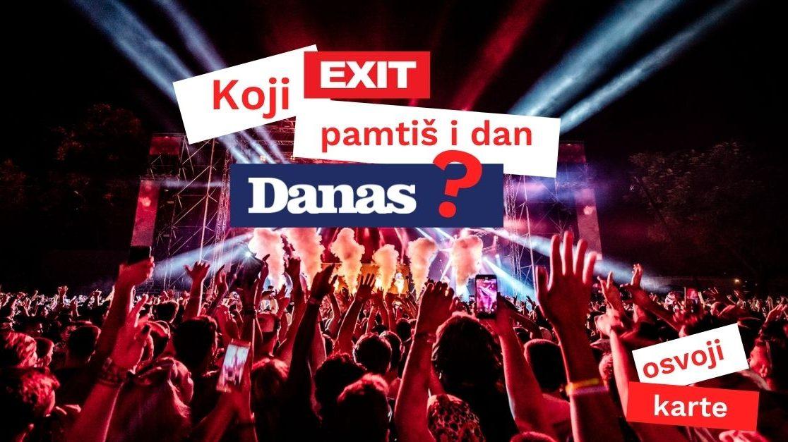 List Danas poklanja karte za Exit 1