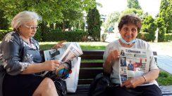 Novinari i urednici Danasa delili rođendanski broj na ulicama više gradova (FOTO) 20