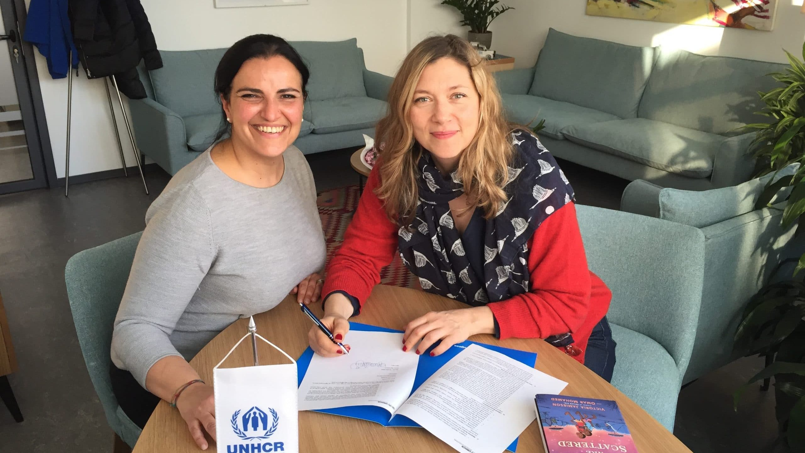 Branka Katić podržava rad UNHCR na pomoći izbeglicama u Srbiji 1