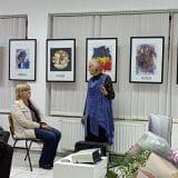 """Galerija Centra za kulturu Majdanpek: """"Pogled unazad"""" umetnice Ljiljane Stevanović 13"""