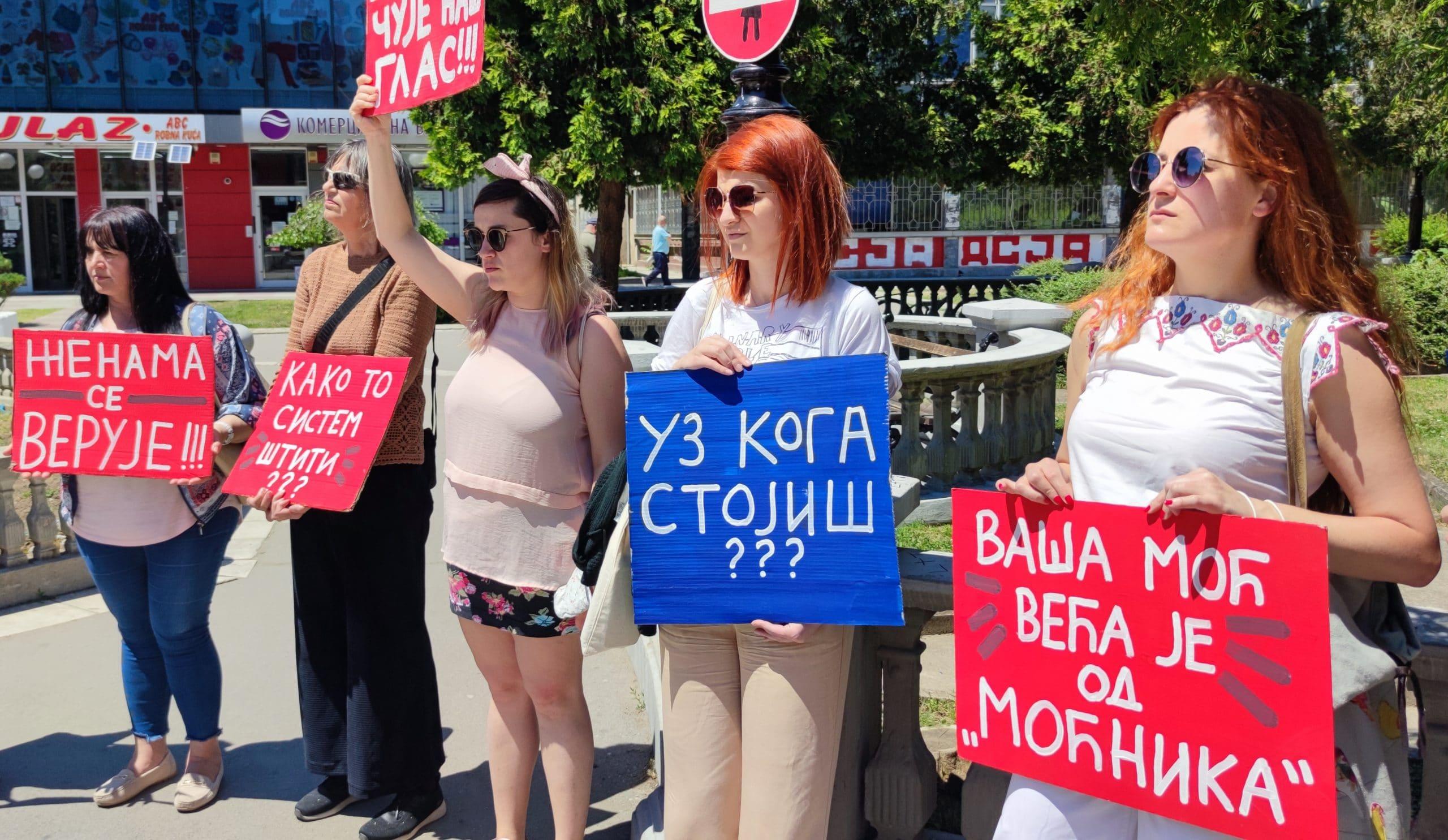 """U Jagodini održana akcija """"Vaša reč je vaša snaga - niste same"""" 1"""