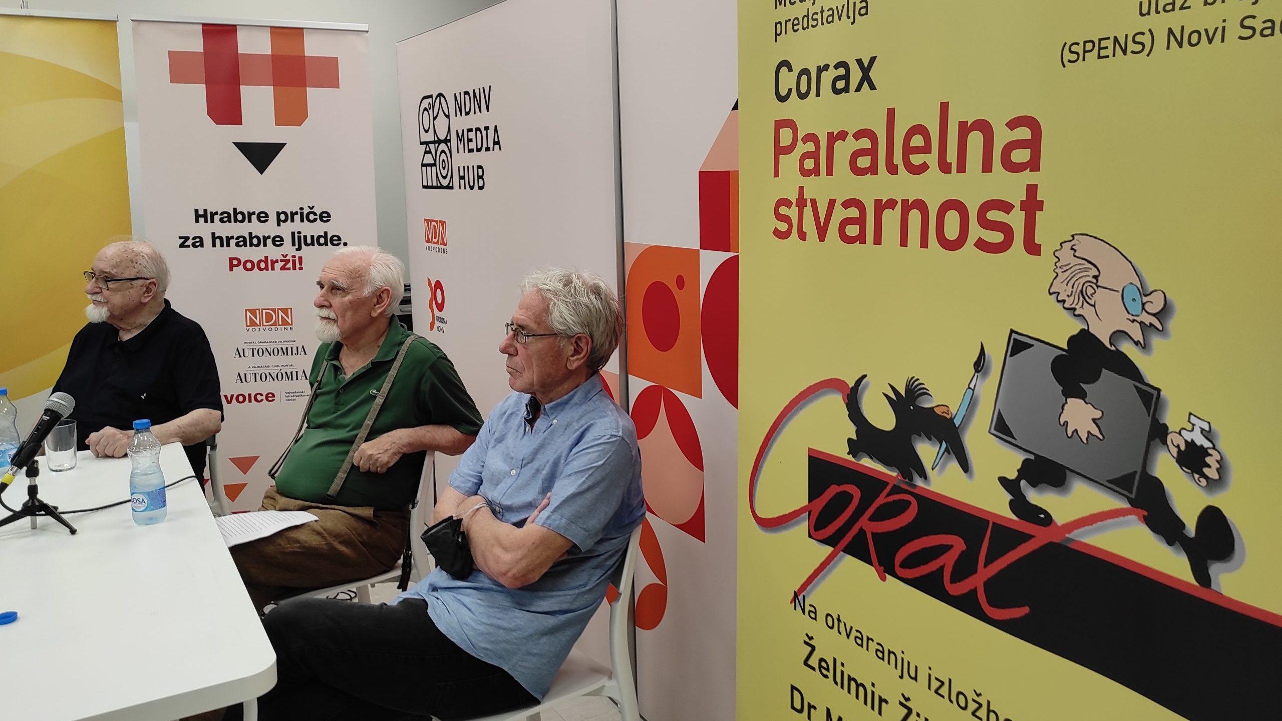"""Koraksova izložba """"Paralelna stvarnost"""" u Novom Sadu: Precizna hronika bešćašća 15"""