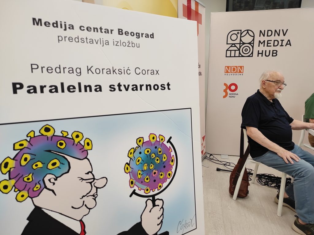 """Koraksova izložba """"Paralelna stvarnost"""" u Novom Sadu: Precizna hronika bešćašća 2"""
