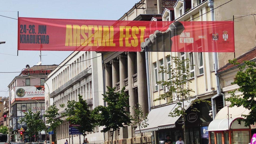 Počeo Arsenal fest u Kragujevcu 3