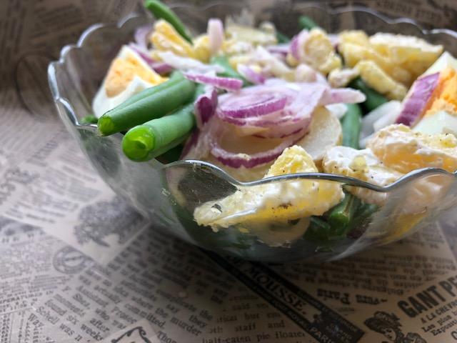 Salata sa zelenom boranijom (recept) 2