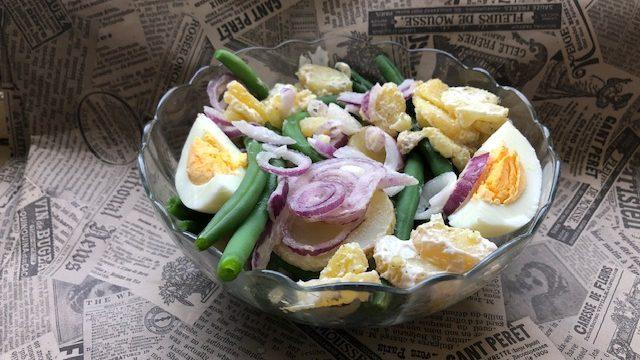 Salata sa zelenom boranijom (recept) 1