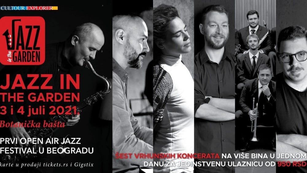 Jazz in the garden 3. i 4. jula u Botaničkoj bašti 1
