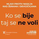"""Pokrenuta kampanja """"Ko se bije - taj se ne voli"""", promoteri Olga Danilović i Andrija Milošević 7"""