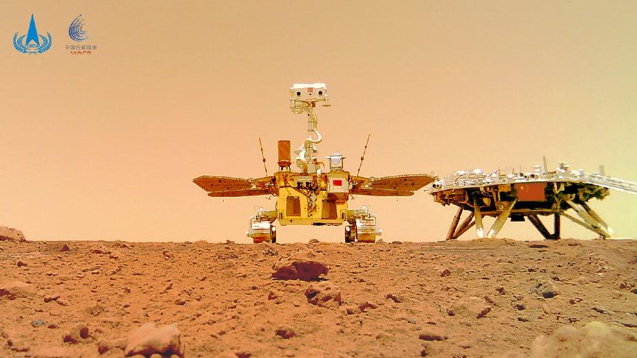 Objavljene slike kineskog rovera sa Marsa 1