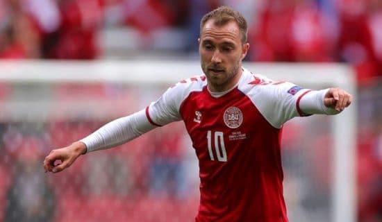 Kapiten reprezentacije Danske stabilan posle pada, meč se nastavlja 8