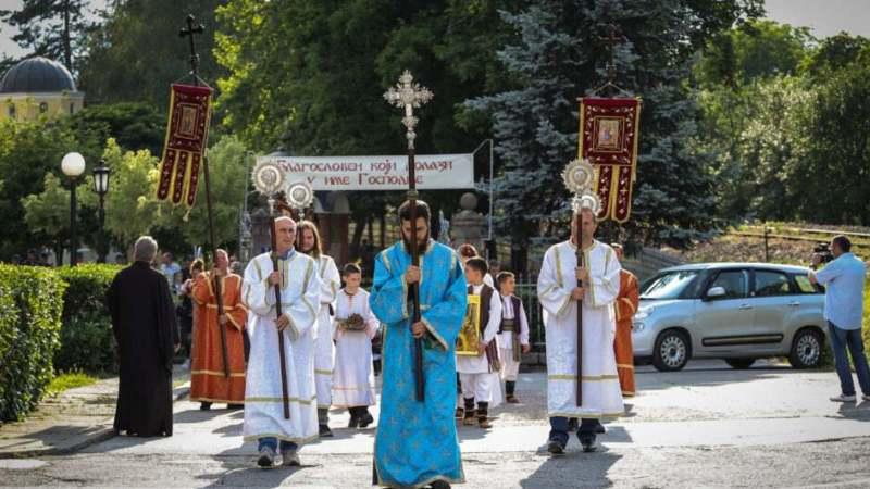 Slava Stare crkve i litija u Kragujevcu 1