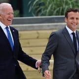 Razgovarali Bajden i Makron, potpredsednica SAD ide u posetu Francuskoj 3