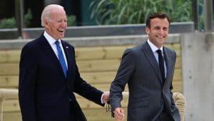 Razgovarali Bajden i Makron, potpredsednica SAD ide u posetu Francuskoj