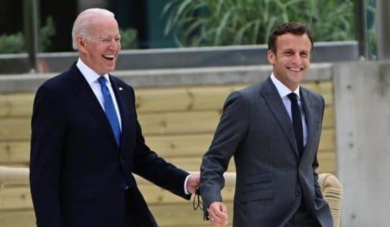 Makron: SAD su se pod Bajdenom vratile partnerstvu sa Evropom 7