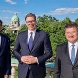 Vučić sa Palmerom i Lajčakom: Uskoro dijalog sa Prištinom 14