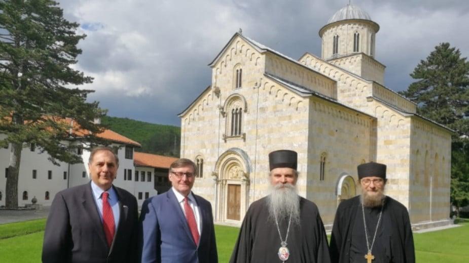 Vladika Teodosije i Palmer o problemima SPC na Kosovu 1