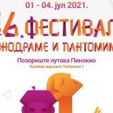 Festival monodrame i pantomime od 1. do 4. jula 2021. godine u Pozorištu lutaka Pinokio 10
