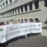 Održan protest u Novom Sadu zbog gradnje mosta na Dunavcu Šodroš 12