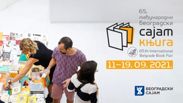 Sajam knjiga u Beogradu od 11. do 19. septembra 1