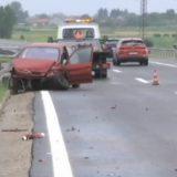 Pet osoba povređeno u saobraćajnoj nezgodi kod Doljevca 7