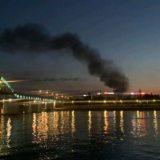 Lokalizovan požar na Novom Beogradu (VIDEO) 11