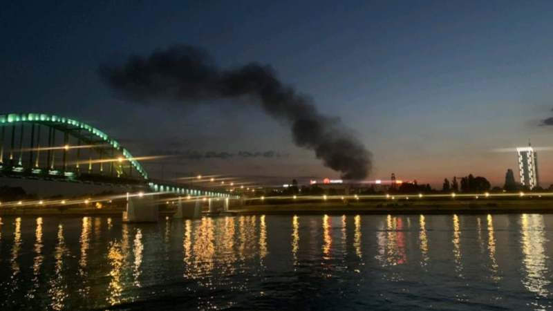 Lokalizovan požar na Novom Beogradu (VIDEO) 1