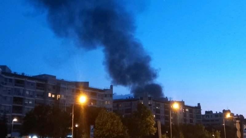 Lokalizovan požar na Novom Beogradu (VIDEO) 2