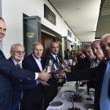 Džajić proslavio 75. rođendan u restoranu Supreme Steak u Galeriji 5