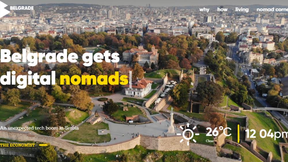 Pokrenut sajt za promociju Beograda kao destinacije za digitalne nomade 1
