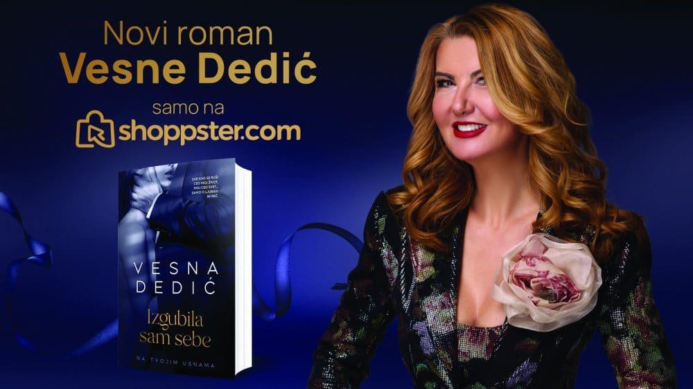 Novi roman Vesne Dedić ekskluzivno na shoppster.com 1