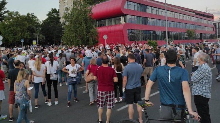 Stanari bloka 37 peti put protestuju zbog izgradnje 16