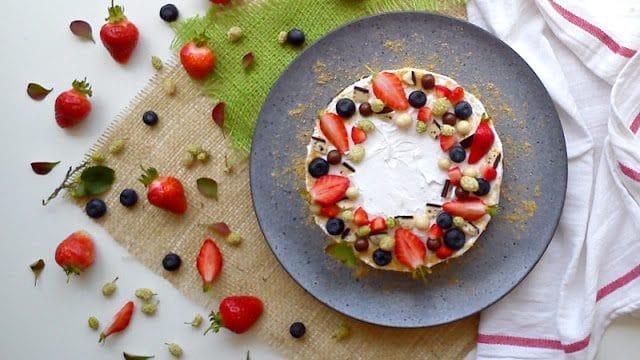Recept nedelje: Brza voćna torta 1