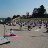 Međunarodni dan joge proslavljen na Kalemegdanu 18