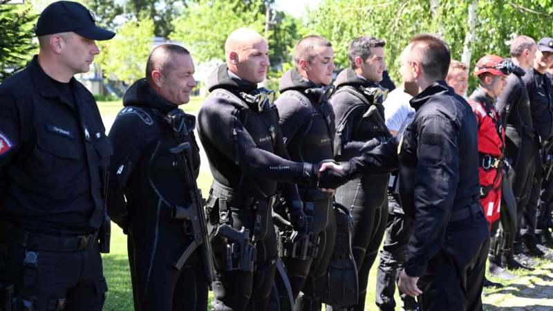 Svečanost povodom Dana policije 1