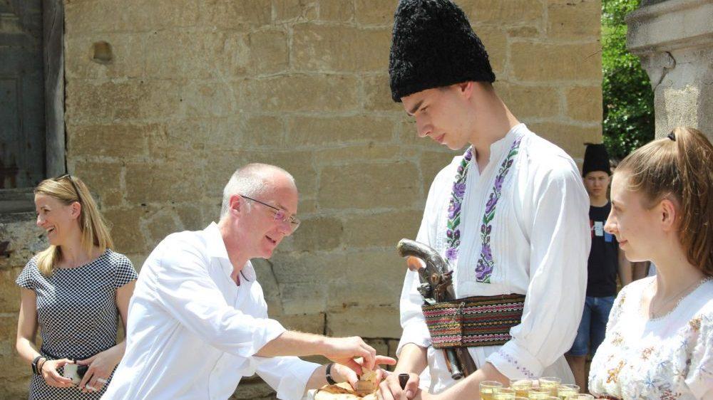 Ambasador Nemačke Tomas Šib u poseti istočnoj Srbiji 1