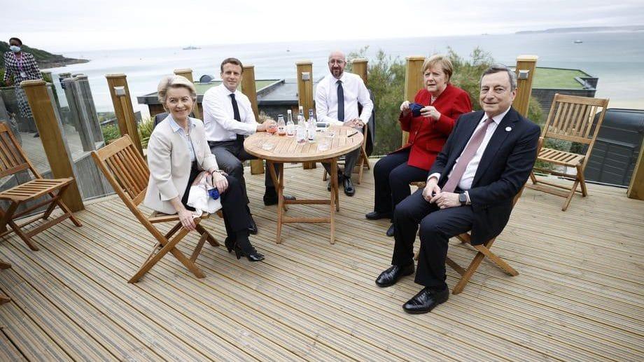 Maršmelou za Bajdena, poslednji samit za Merkel 1