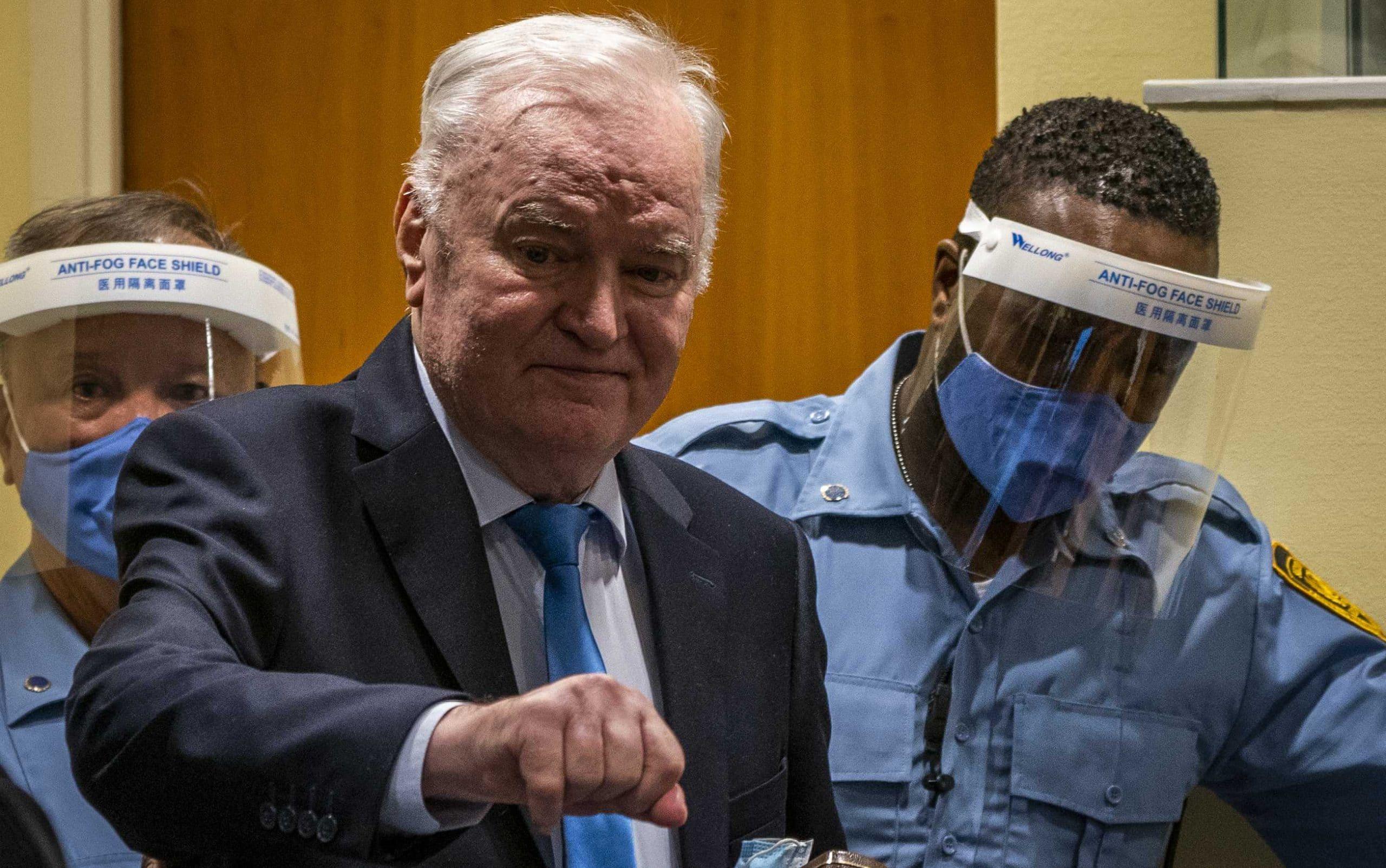 Ratko Mladić pravosnažno osuđen na doživotnu kaznu zatvora 1