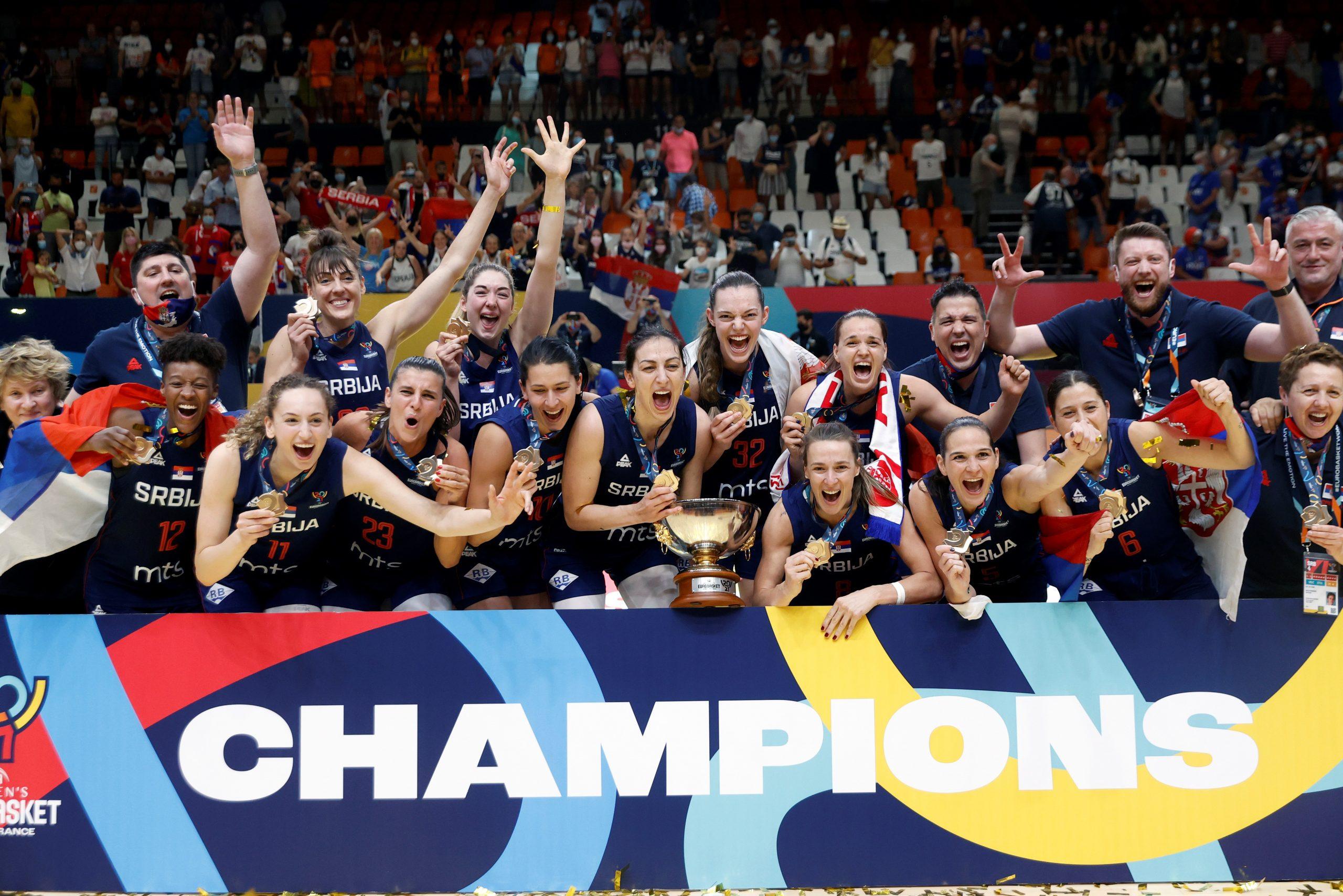 Košarkašice Srbije osvojile zlato na Evropskom prvenstvu 3