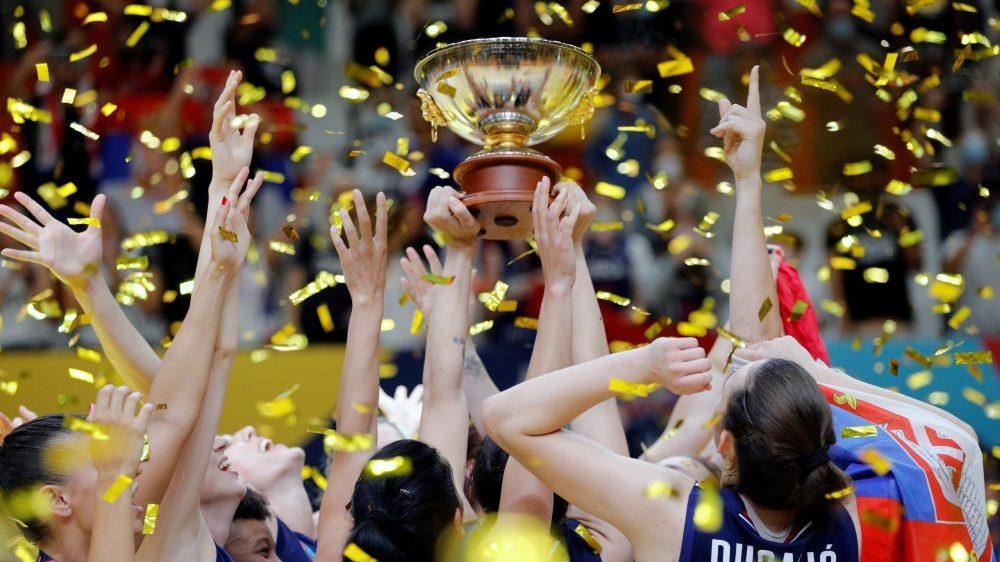Košarkašice Srbije osvojile zlato na Evropskom prvenstvu 1