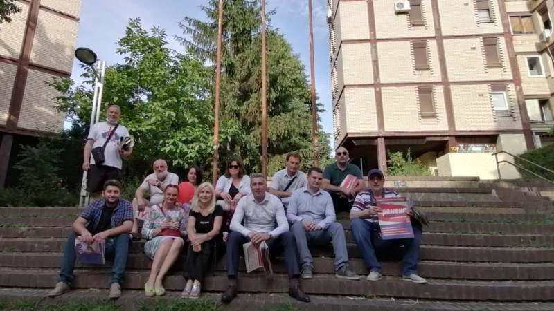 Dveri nastavile svoju predizbornu kampanju u Beogradu 1