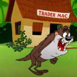 Tasmanijski đavo puni 64 godine 1