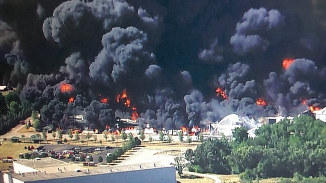 Eksplozija u hemijskom postrojenju u okolini Čikaga 1