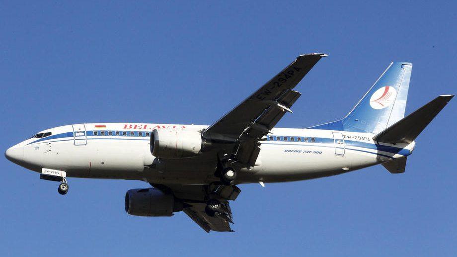 Beloruska avio-kompanija potvrdila da je otkazala putovanja ka Beogradu do kraja jula 1