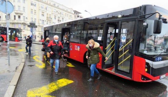 Izmene javnog saobraćaja u Beogradu tokom vikenda 8