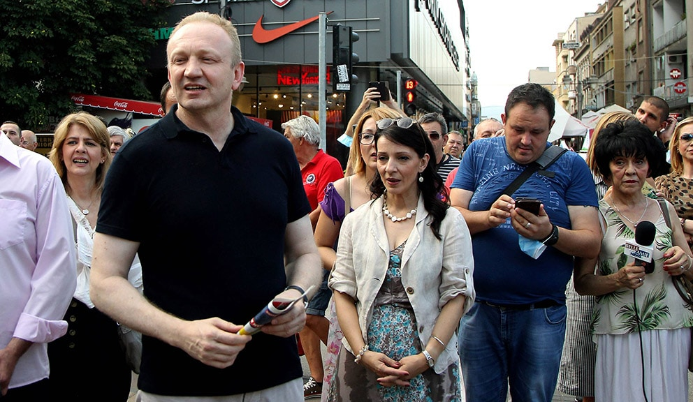 "SSP: Đilasa i Tepić napali ""SNS drekavci"" u Vršcu 1"
