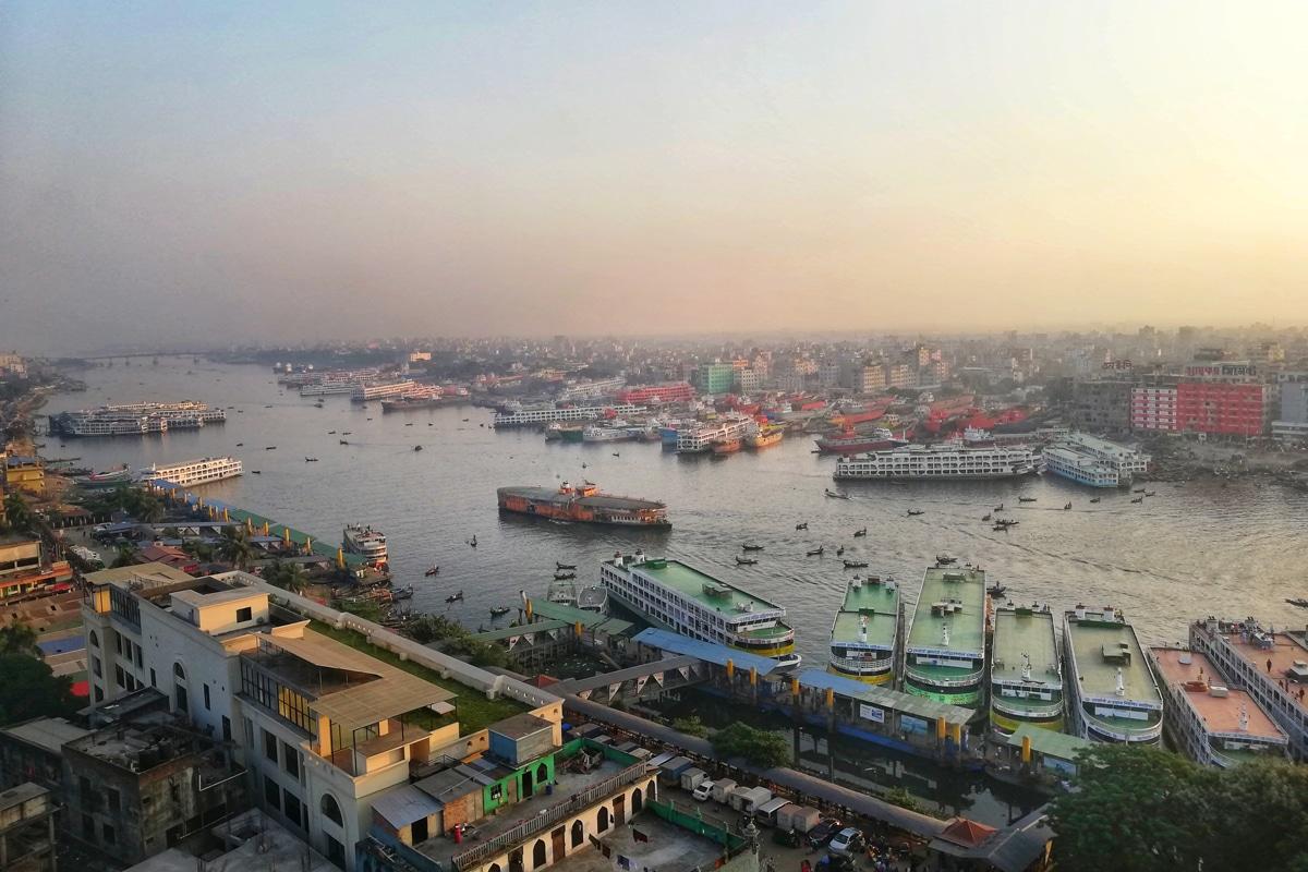 The Bangladeshi capital, Dhaka