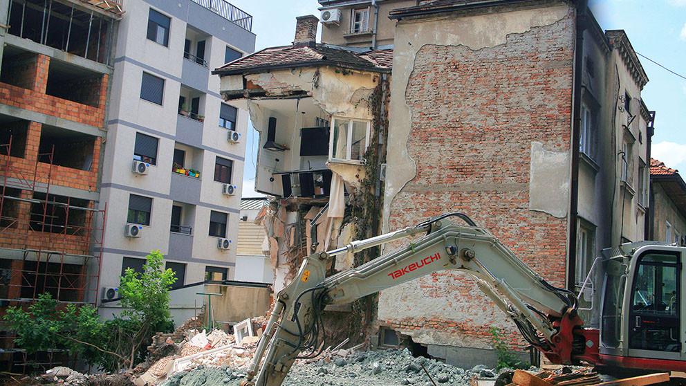 Posle urušavanja na gradilištu u Vidovdanskoj, Vesić predložio zakon koji već postoji 1