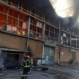 MUP: Lokalizovan požar u Luci Beograd (FOTO) 1
